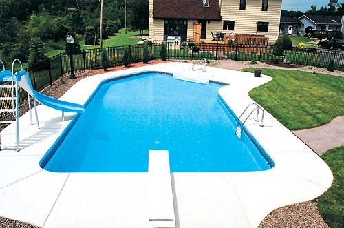 Inground pool cost hidden water pools cost for Pool installation cost