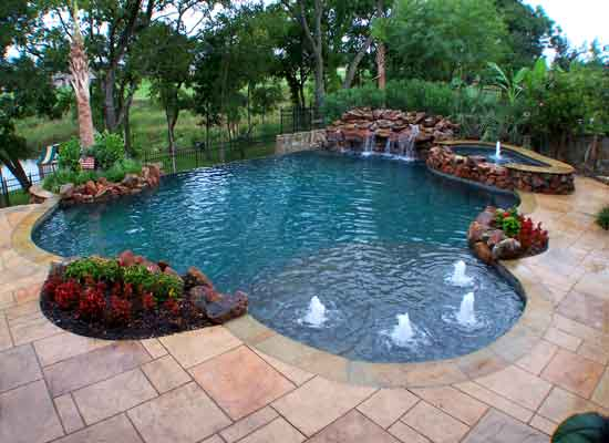 Inground pool cost hidden water pools cost for Swimming pool images